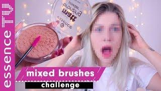 mixed make up challenge deutsch - BRUSHES EDITION