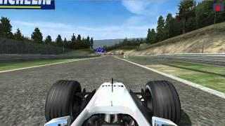 F1 2002 Game Spa Kimi Raikkonen HD