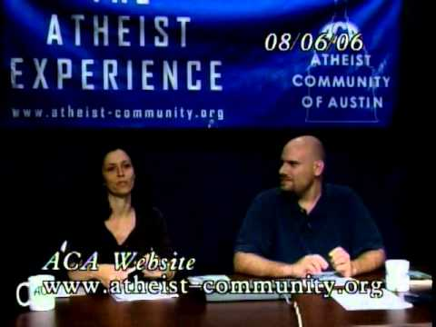 """Lost"" Atheist Experience #301 with Martin Wagner and Ashley Perrien from YouTube · Duration:  1 hour 29 minutes 32 seconds"