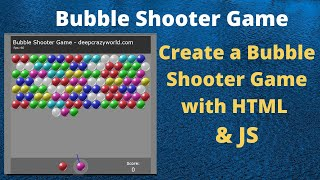 How to make Bubble Shooter Game in html CSS & Java Script | Bubble Shooter Game screenshot 5