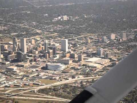 Sam's Cessna 172 Flight Downtown Tulsa