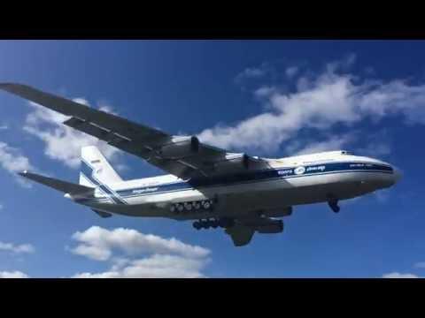 An-124 Rusłan - Lądowanie W Gdańsku