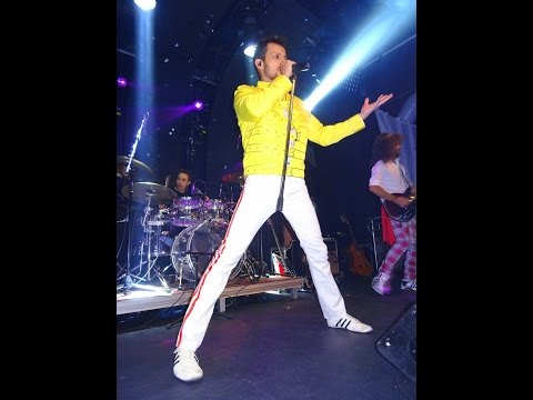 Vipers - Queen Tribute (Who Wants To Live Forever, Innuendo, Bohemian Rhapsody, The Show Must Go On)