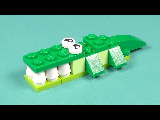 Lego Crocodile Building Instructions - Lego Classic 10708