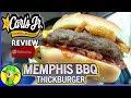 Carl's Jr.® | Memphis BBQ Thickburger® | Ulasan Makanan! ⭐ ???????? ♨️