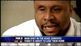 Hardworking Man Gets Shot In The Head In Detroit Left Blind With No Taste..!! Lord Help Us.!