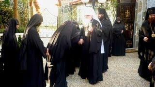 O manastire ortodoxa in milano italia , unde plange Maica Domnului!
