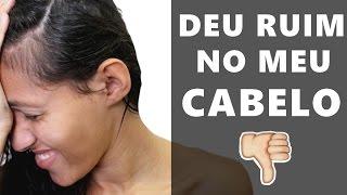 RECEITA CASEIRA QUE NÃO DEU CERTO NO MEU CABELO