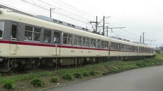 富山地方鉄道 モハ10025+モハ10026+クハ175 大泉駅発車 9月30日