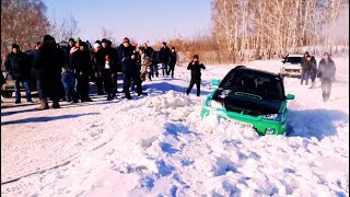 Subaru Forester Sti 300hp 6mt В Сложную Горку Против Нивы Vs Hilux Vs Patriot Vs Crv Короткая Версия