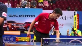 2014 中國桌球公開賽 8強:張繼科 ~唐鵬(1/4決賽)