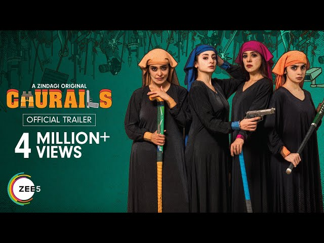 Churails Official Trailer | A ZINDAGI Original | Streaming Now on ZEE5