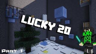 [Part 1] Lucky 20   Parkour   Minecraft Custom maps