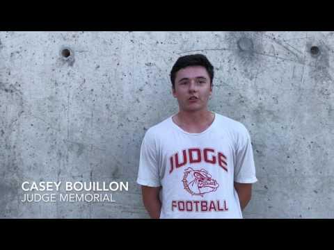 Casey Bouillon, Judge Memorial