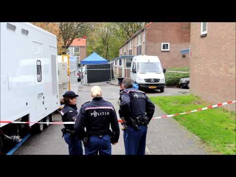 Dubbele moord in Amsterdam-Slotermeer.