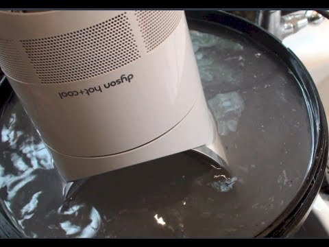 How to Sanitize A Smelly Dyson hot+cool fan heater and kill the smell