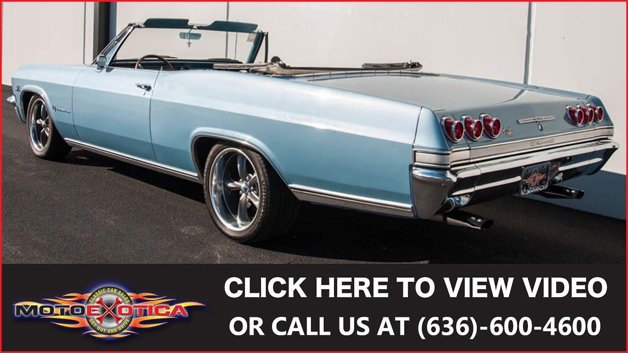 1965 Chevrolet Impala Convertible || SOLD - YouTube