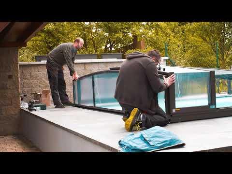 Zastřešování bazénu od firmy MACEK a SYN, s.r.o.