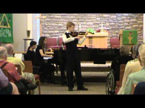 Spencer Sharp Plays Hoedown from Rodeo  Aaron Copland