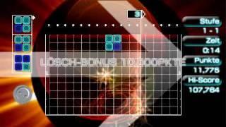 Lumines II - Gameplay - PSP