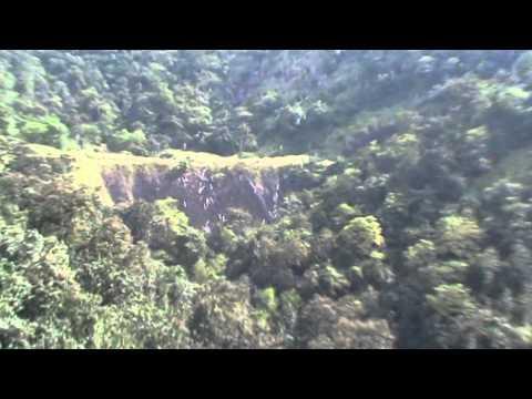 Sahyadri mountains through train