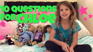 10 Questions For Chloe from Chloe