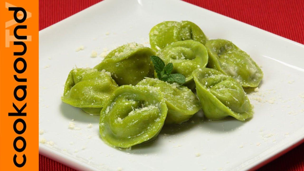Ravioli verdi con ricotta e mortadella ricette primi for Ricette primi piatti