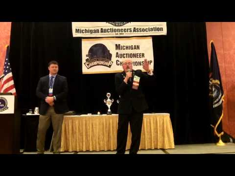 Wayne Blair, Michigan Auctioneers Championship 2016 Preliminaries
