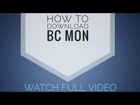 How to download bcmon.apk