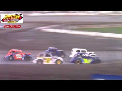 Jamestown Speedway INEX Legend A-Main (6/22/19)