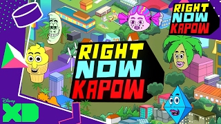 Right Now Kapow | Opening Titles! | Official Disney XD UK