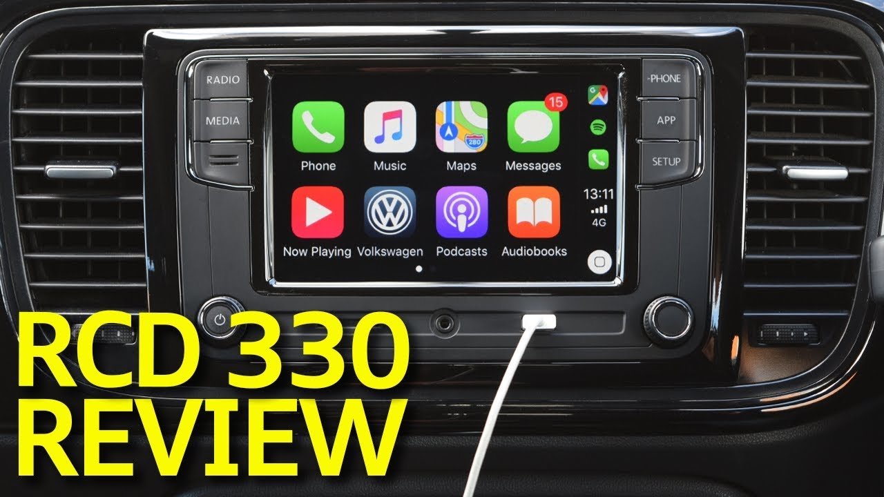 vw rcd 330 g plus review with reversing camera youtube. Black Bedroom Furniture Sets. Home Design Ideas
