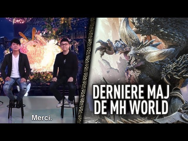 MH World - Dernière MAJ et Remerciements des développeurs