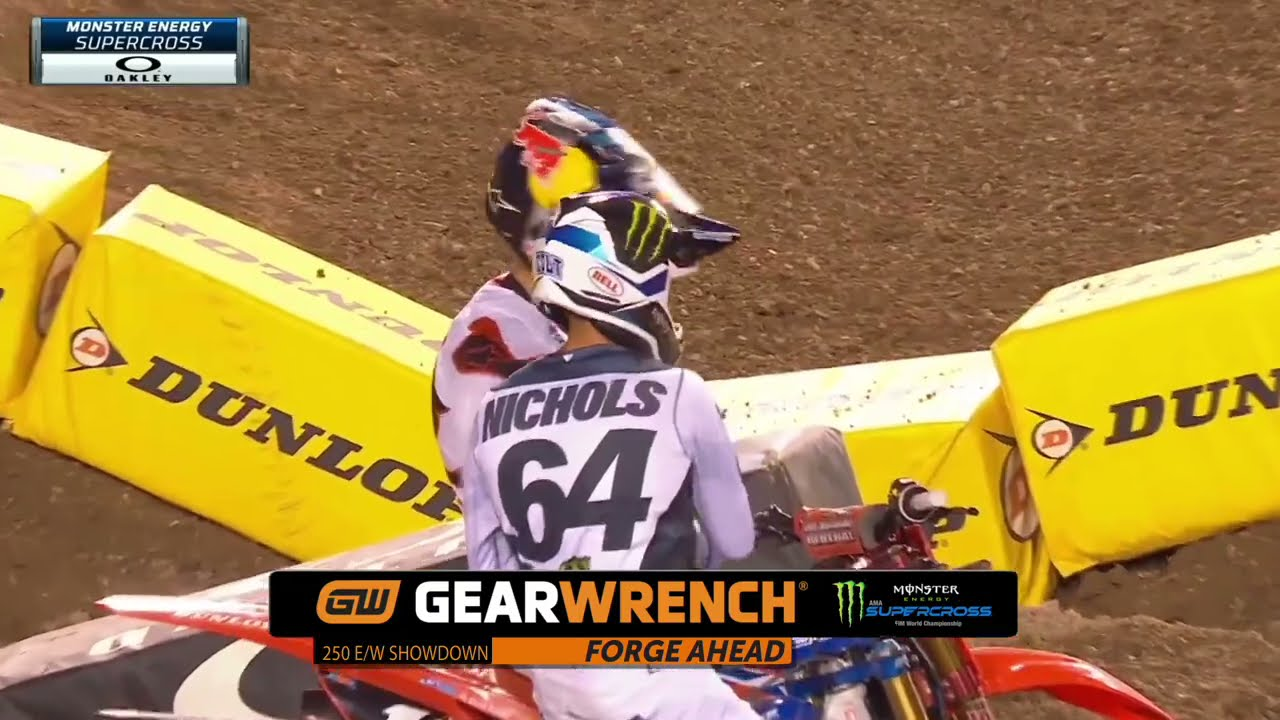 GEARWRENCH 250SX Supercross Top Performance - Round 17