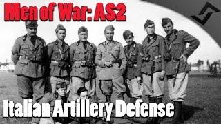 Men of War: Assault Squad 2 - GSM Italian Artillery Defense in Russia