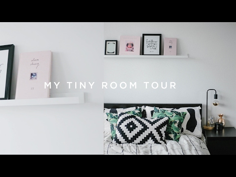 TINY ROOM TOUR- Minimal/Jungalow