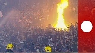 La tension monte à Belgrade