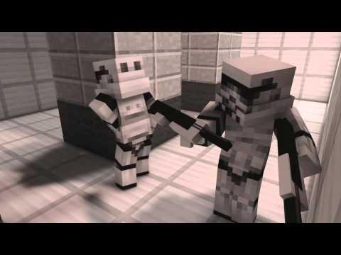Star Wars in Minecraft - Minecraft Animation