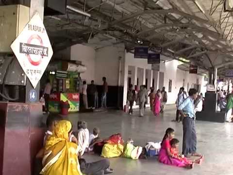 The Bilaspur Railway Station Chhattisgarh