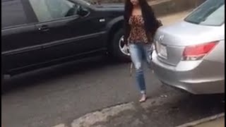 Incredible Video! Ex-girlfriend going crazy and attempted MURDER!