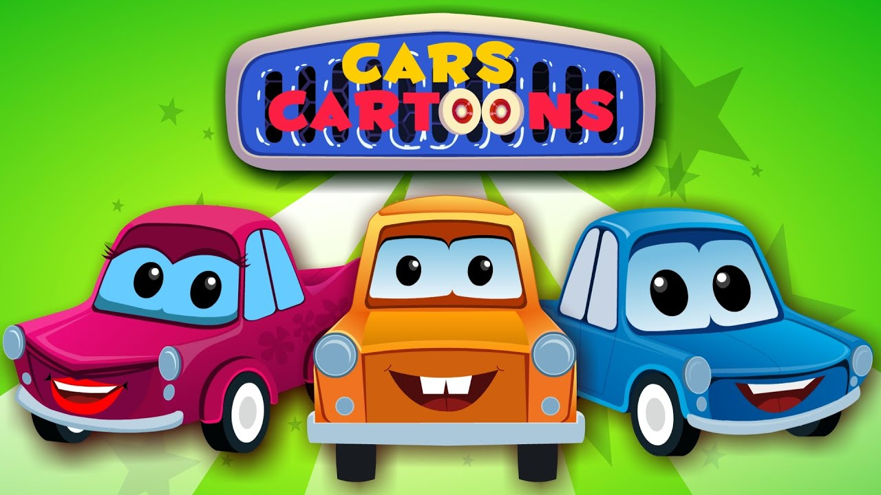 cars cartoons meet the cars of cars cartoon car song and car rhymes youtube