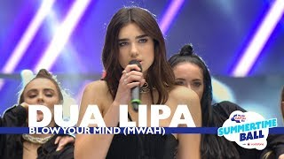 Download Video Dua Lipa - 'Blow Your Mind (Mwah) (Live At Capital's Summertime Ball 2017) MP3 3GP MP4