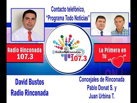 Entrevista a los Concejales de la comuna de Rinconada Pablo Donat y Juan Urbina