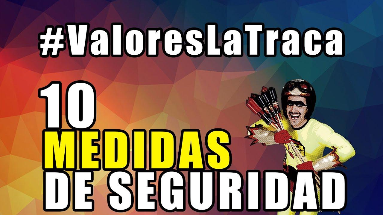 10 MEDIDAS PARA UNA PIROTECNIA SEGURA #ValoresLaTraca