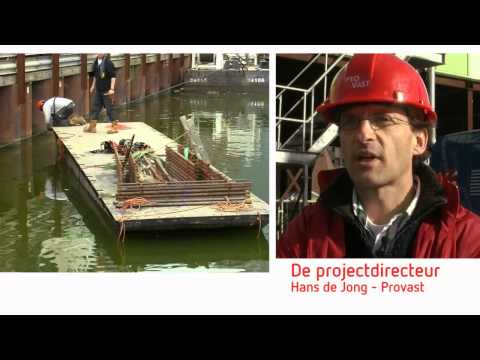 The making of the Markthal Rotterdam