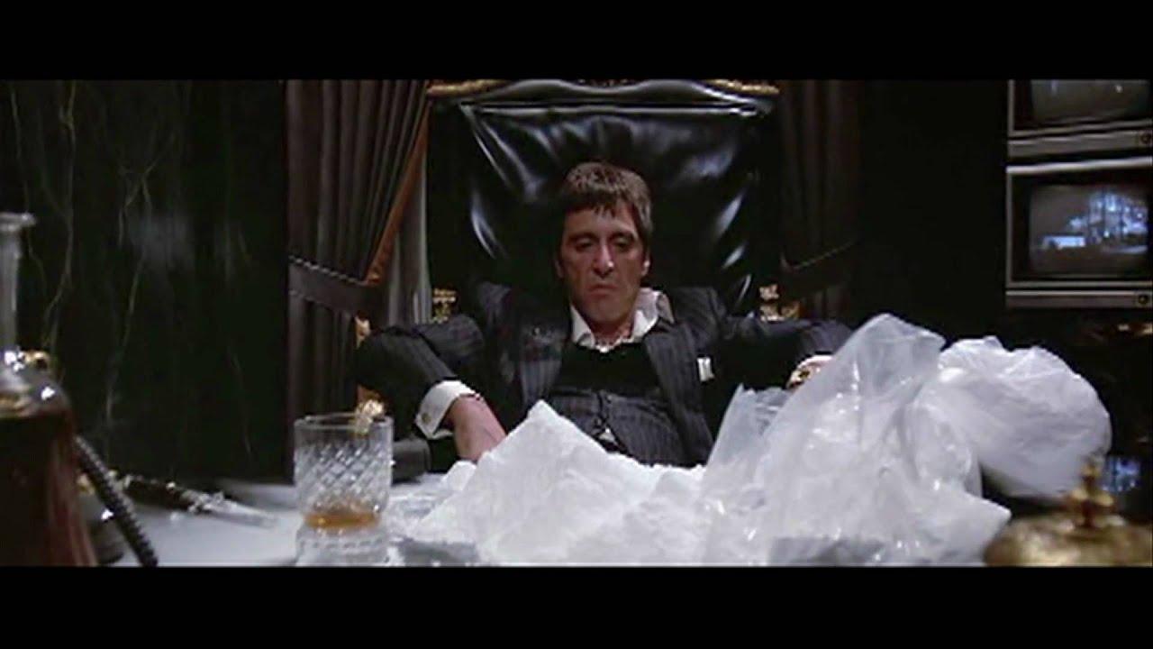 Scarface cocaine mountain  YouTube