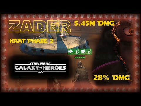 Zader HAAT Phase 2 5.45m - Star Wars Galaxy of Heroes