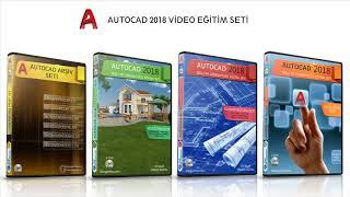 Autocad 2018 Eğitim Seti Tanıtımı