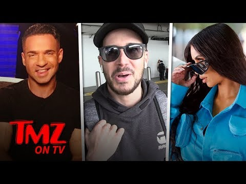 Jersey Shore's Vinny Asks Kim K To Help Get The Situation Out Of Jail!   TMZ TV