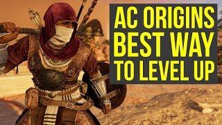 Assassin's Creed Origins Tips BEST WAY TO GET FAST XP (Assassin's Creed Origins Fast XP - AC Origins